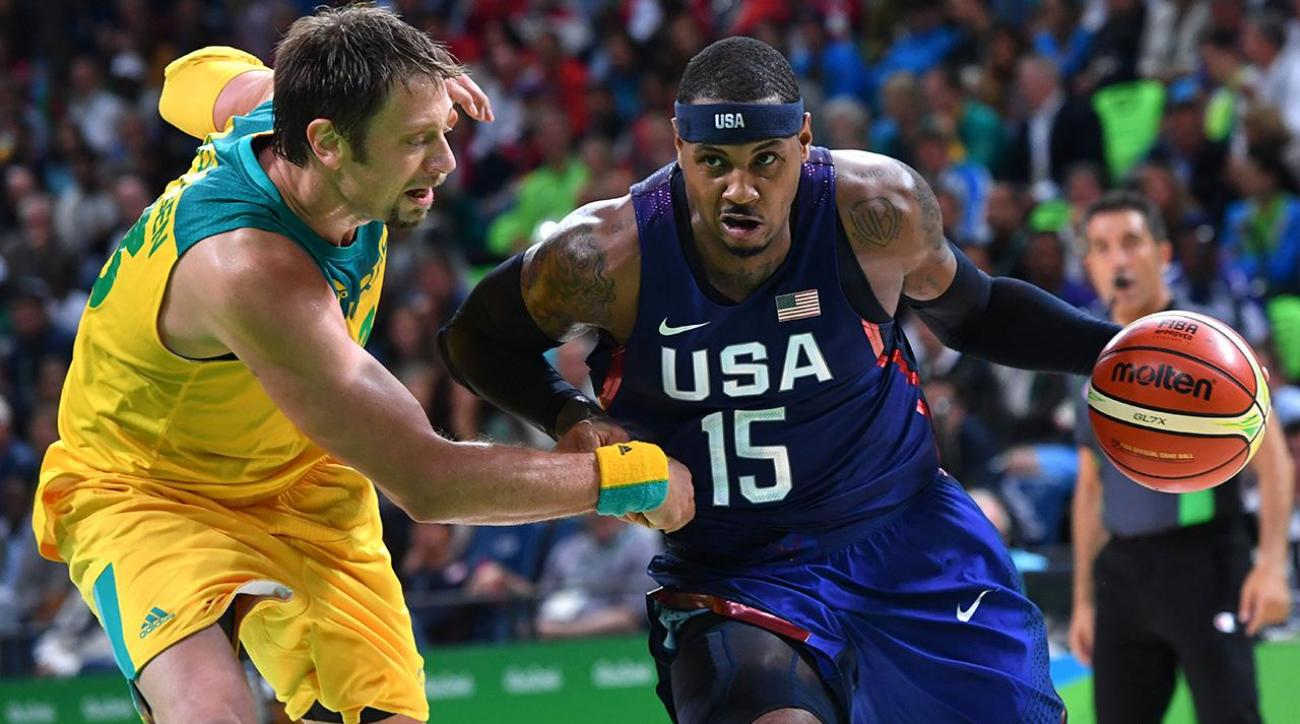 US men's basketball team gets tested, beats Australia 98-88