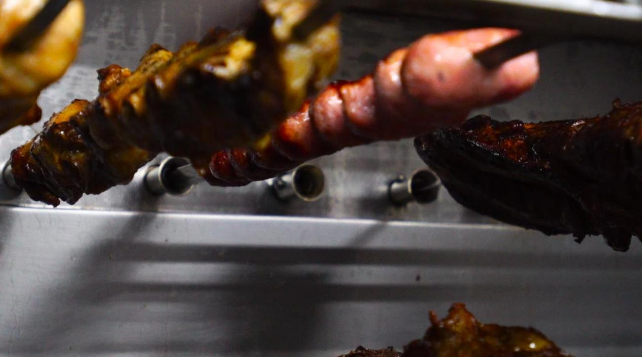 Inside a Brazilian Churrascaria