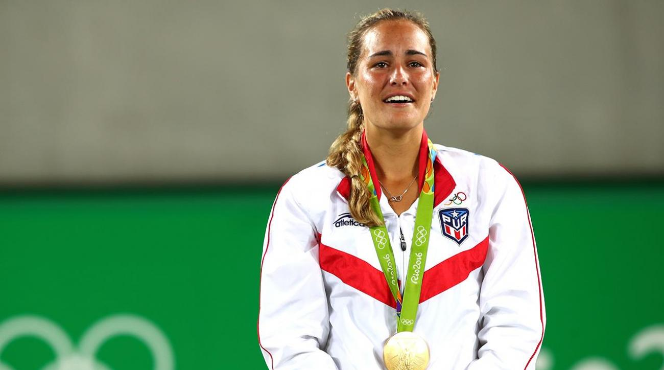 Monica Puig wins first ever Olympic gold medal for Puerto Rico
