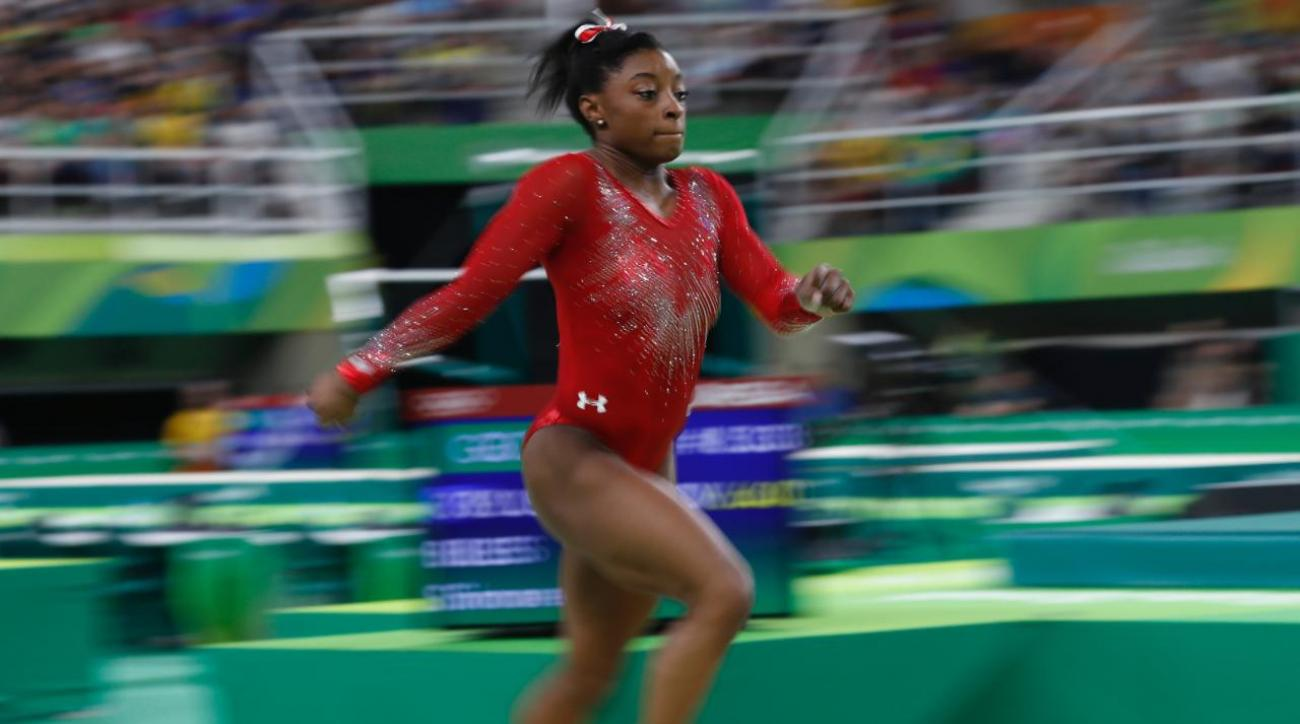 Simone Biles wins gold, Madison Kocian wins silver in individual apparatus finals