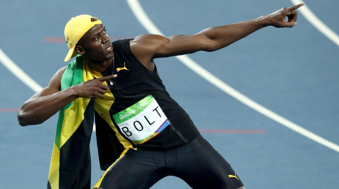 Usain Bolt wins third Olympic gold medal in 100 meters