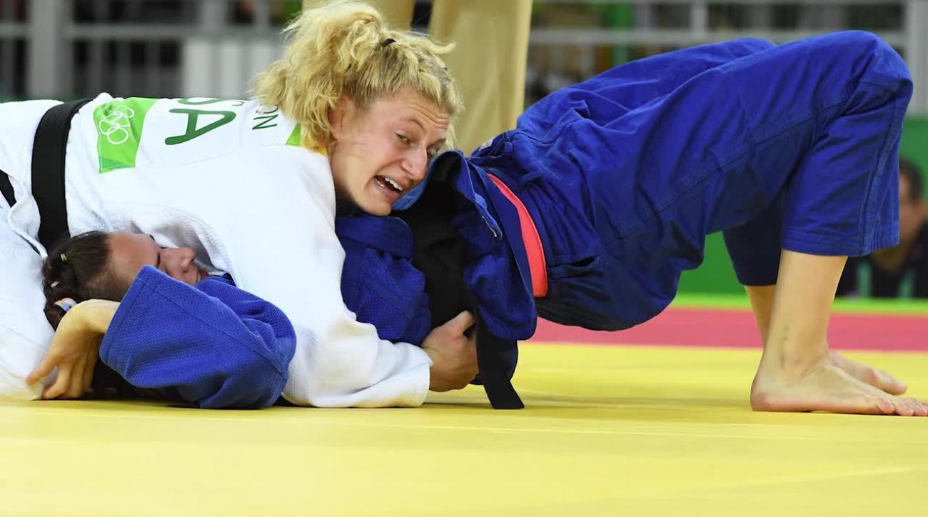 rio 2016, kayla harrison, olympics, sports illustrated, olympic judo, kayla harrison mma, judo, mma fighting, mma
