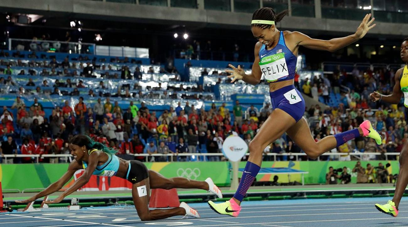 Allyson Felix makes history with silver medal in 400 meter dash