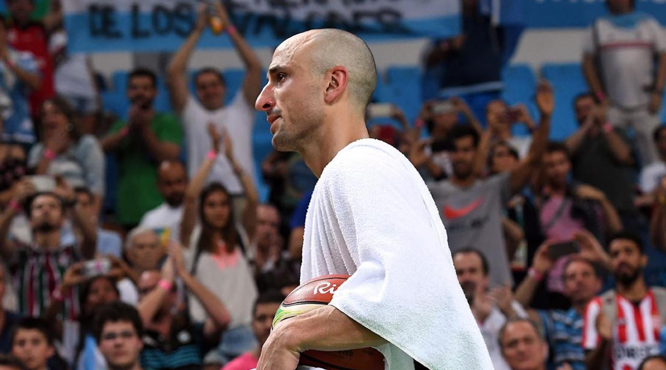 Team USA defeats Argentina, Spurs' Manu Ginobili plays last Olympic game IMAGE