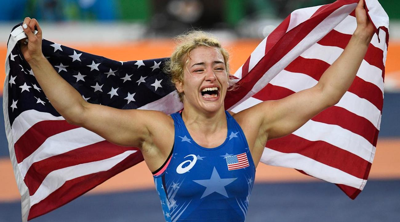 Helen Maroulis becomes first American woman to win wrestling gold