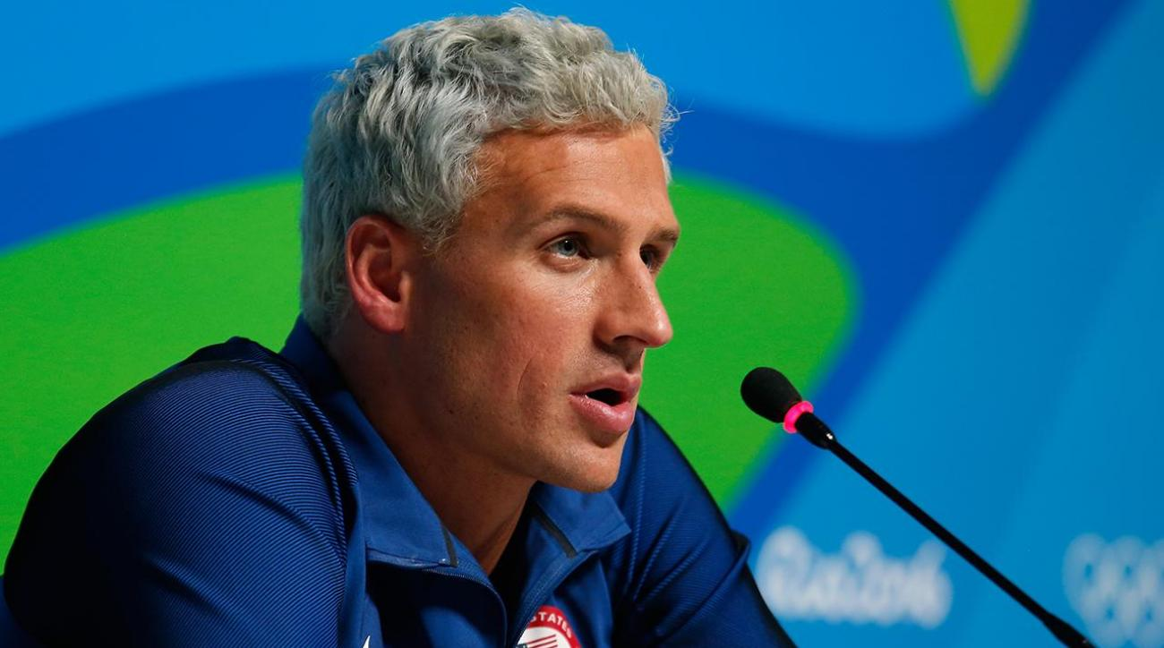 Ryan Lochte, Jimmy Feigen indicted for false reporting of a crime IMAGE