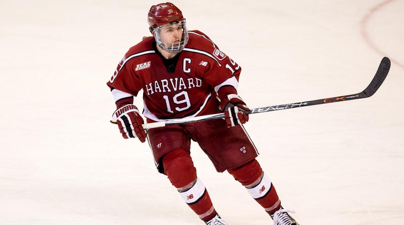 Jimmy Vesey signs with New York Rangers