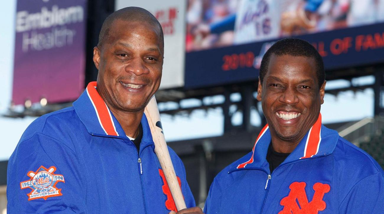 Darryl Strawberry: Doc Gooden 'complete junkie-addict' IMAGE
