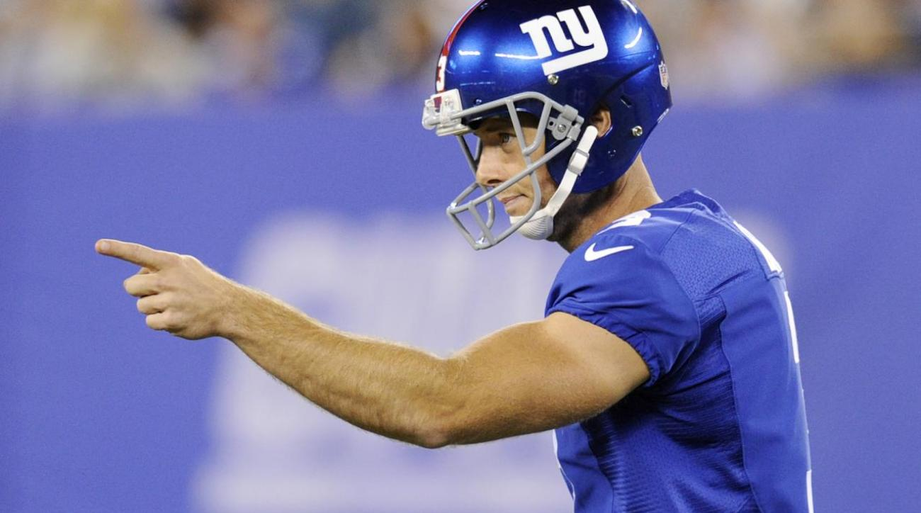Giants CEO John Mara: Team has no plans to cut K Josh Brown IMAGE