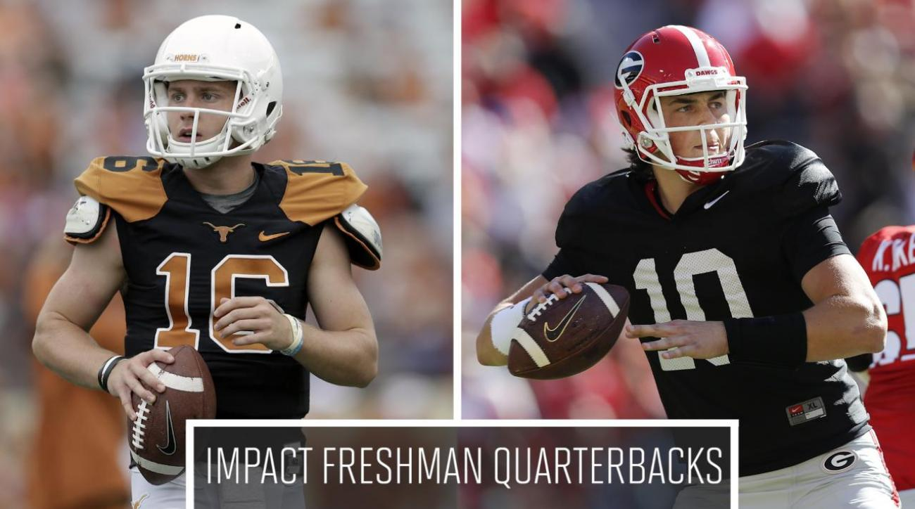 Which freshman quarterbacks will make an immediate impact?