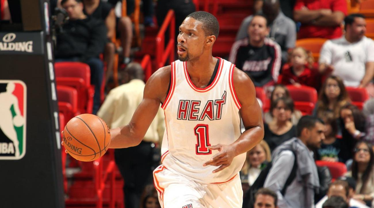 Report: Chris Bosh expects to be medically cleared to rejoin Heat
