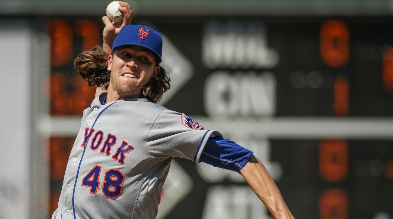 Jacob deGrom diagnosed with right forearm soreness