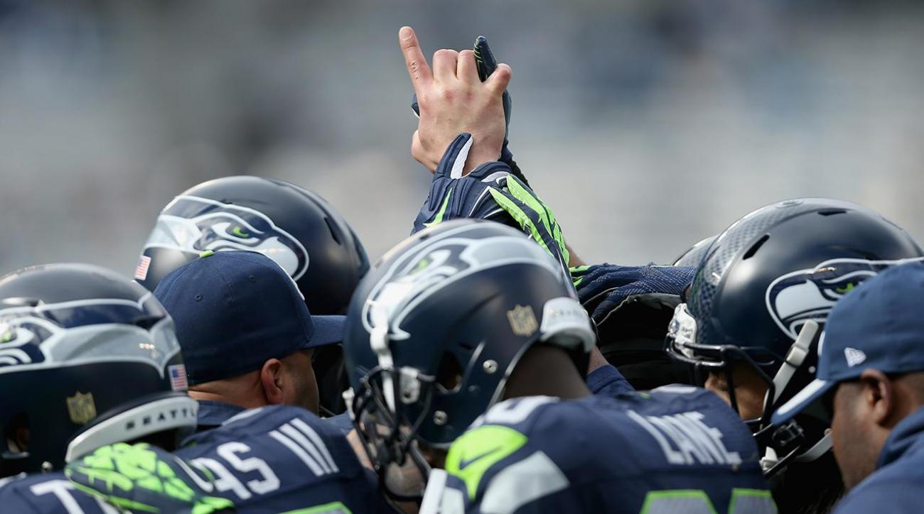 Report: Seahawks discussing team protest during national anthem IMAGE