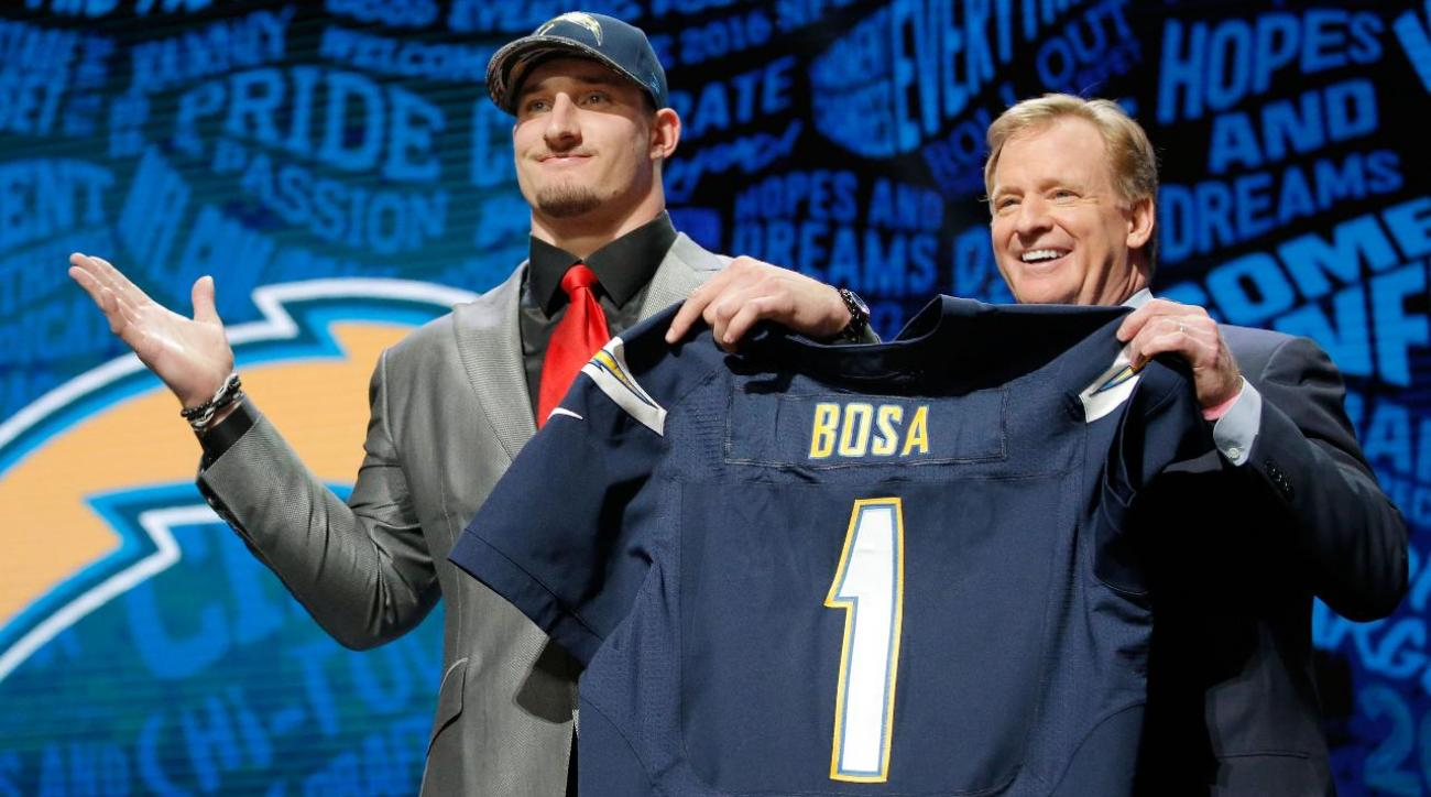Chargers' Joey Bosa to miss season opener with hamstring injury