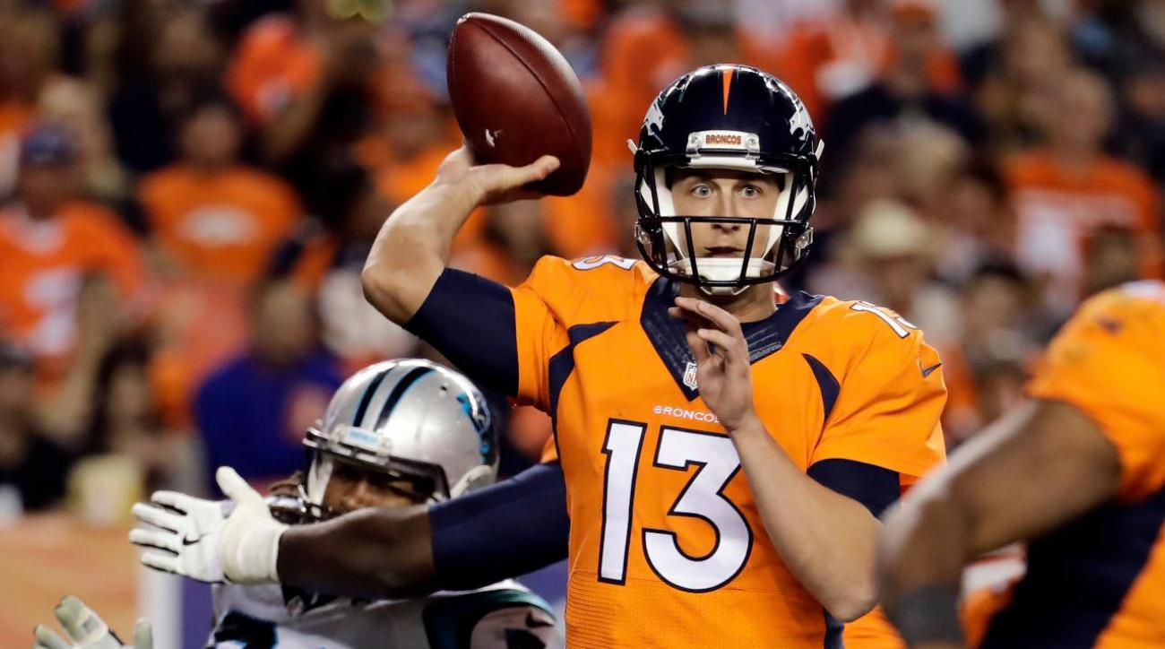 Denver Broncos defeat Carolina Panthers 21–20 in 2016 NFL season opener