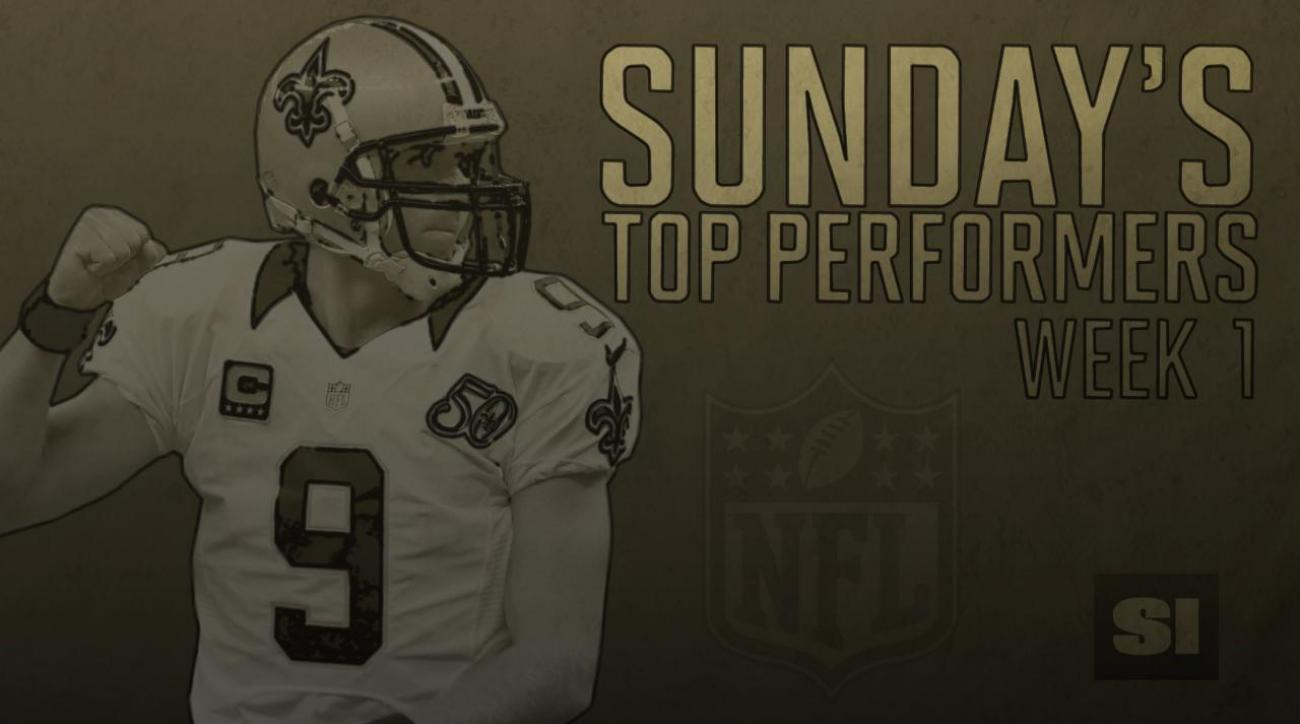 NFL's Top Performers: Week 1