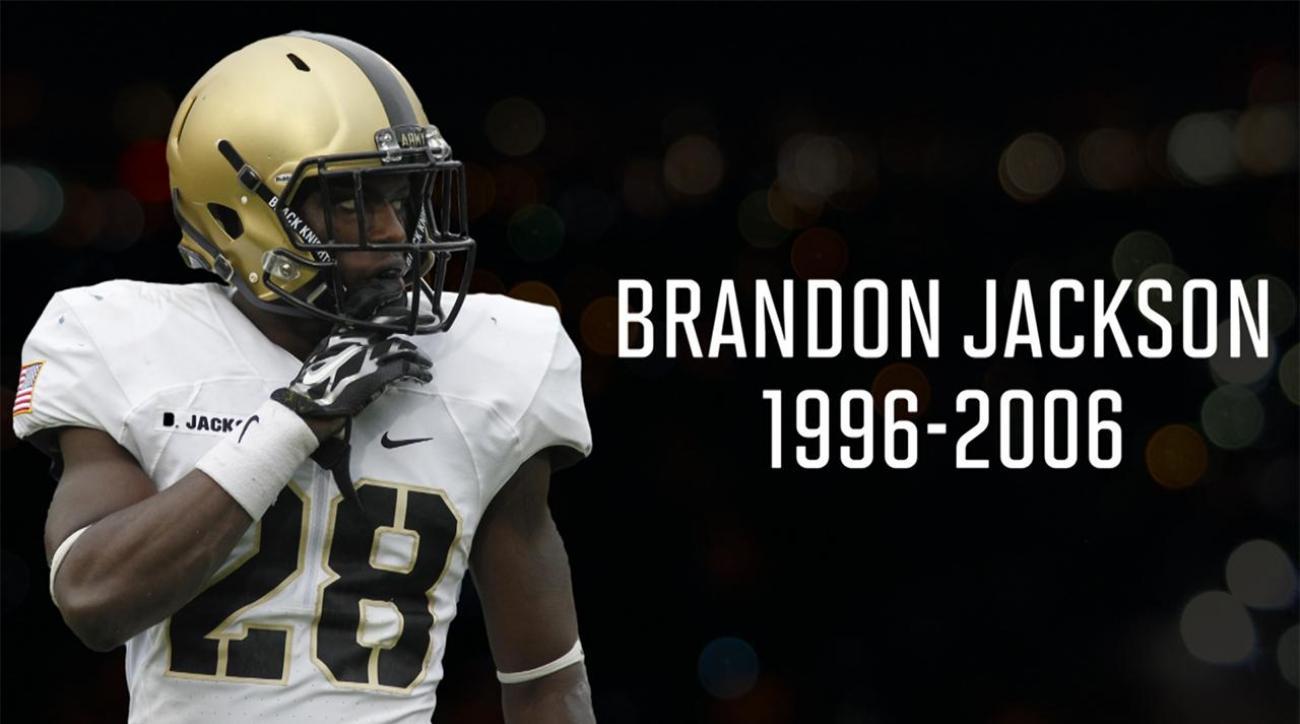 Army cornerback Brandon Jackson killed in single-car crash