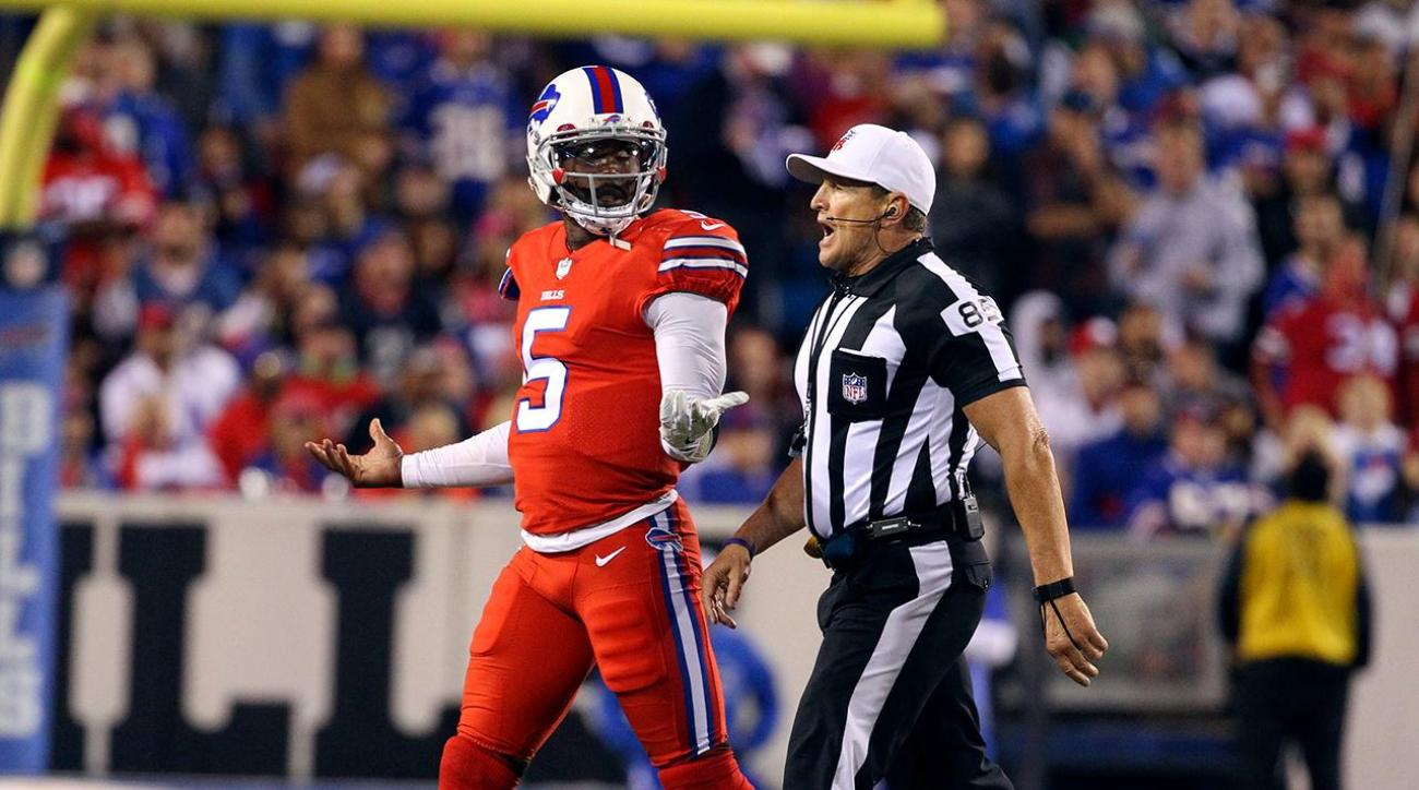 Bills' Tyrod Taylor on removal from game: Officials said I looked 'woozy'