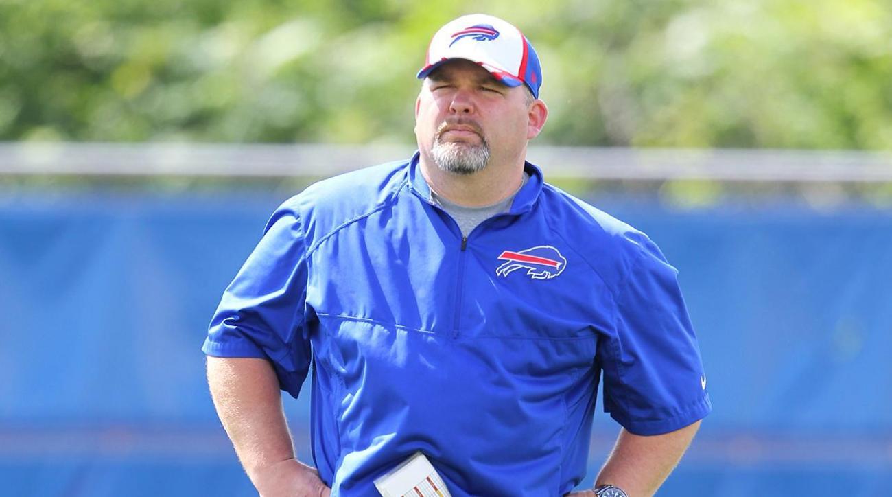 Bills fire offensive coordinator Greg Roman
