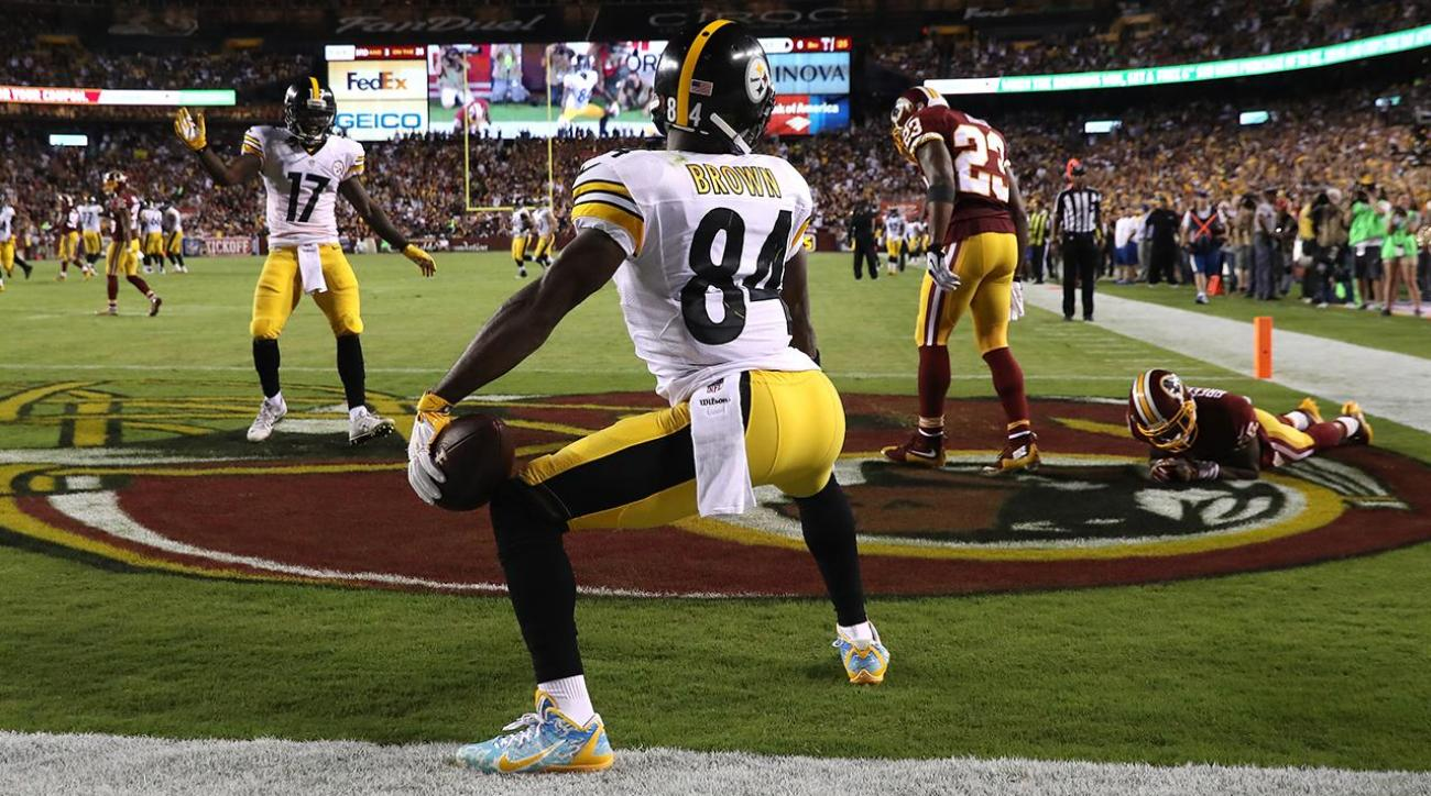 Antonio Brown fined for end zone twerk