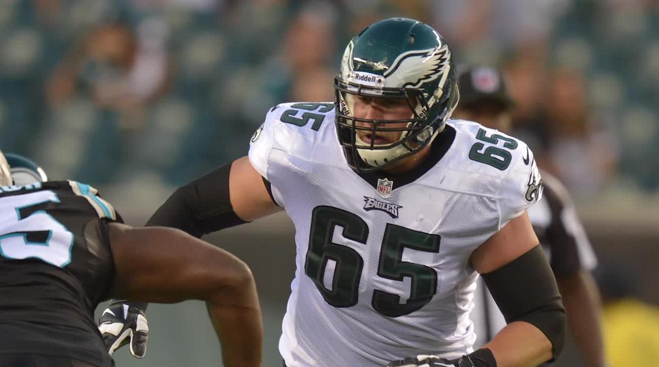 Report: Eagles tackle Lane Johnson suspended pending appeal IMAGE