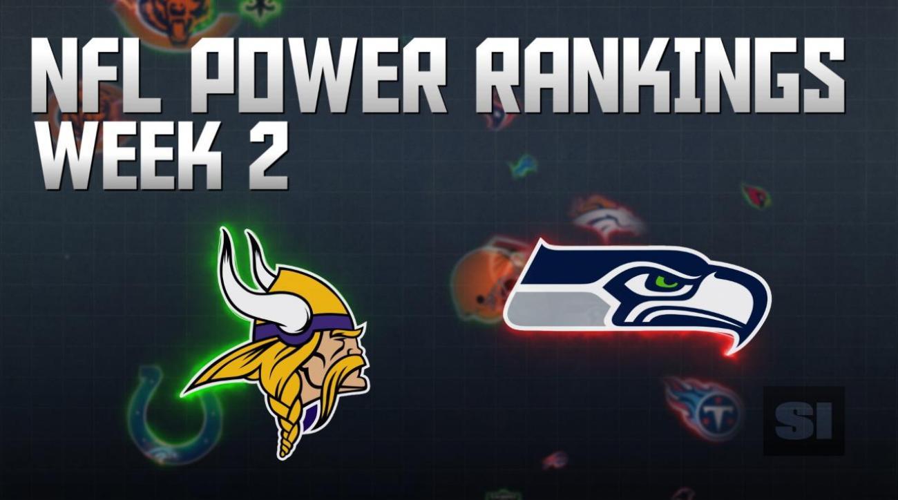 NFL Power Rankings: Week 2
