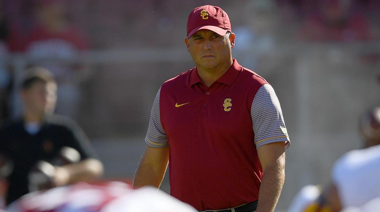 #DearAndy: Could Tom Herman potentially replace Clay Helton at USC?