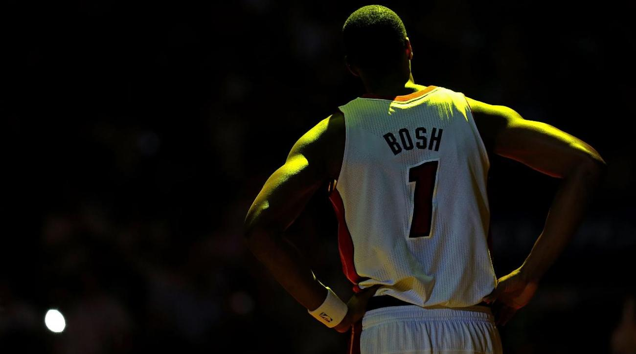 Chris Bosh was told by doctors that his career was over due to blood clots IMAGE