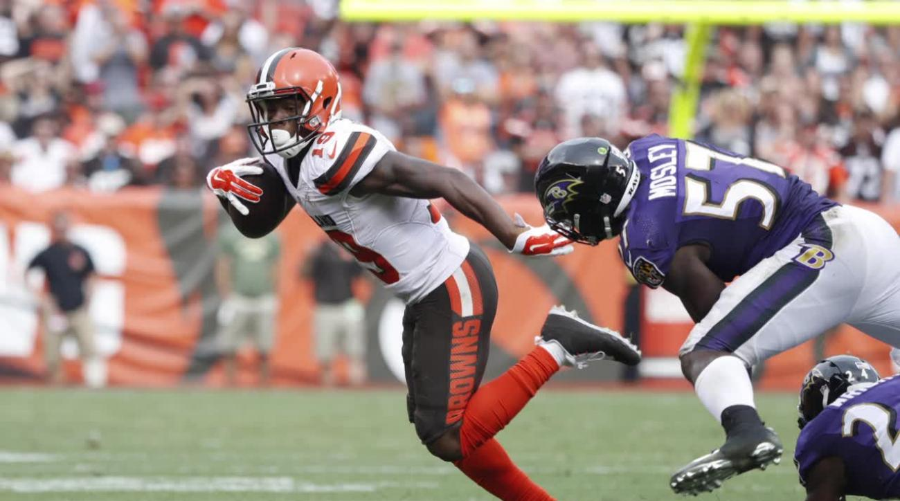 Browns WR Corey Coleman out four to six weeks with broken hand