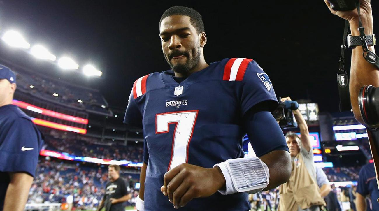 Patriots QB Jacoby Brissett has torn right thumb ligament