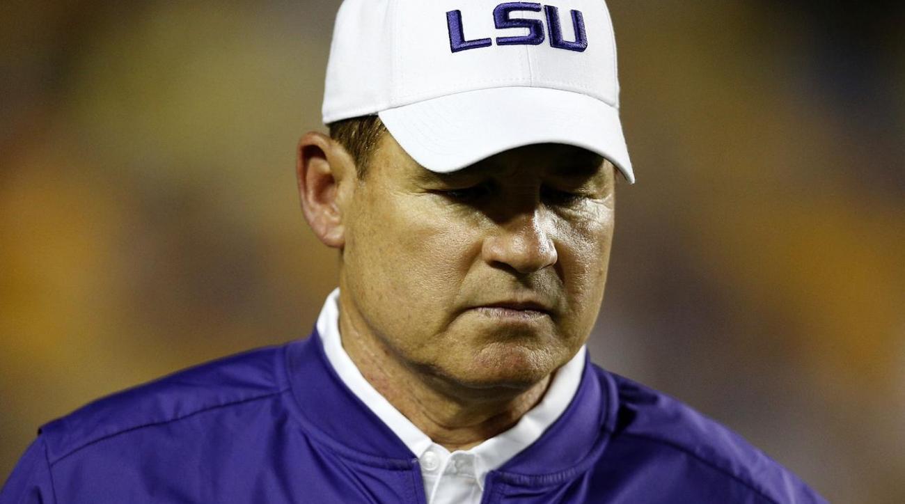Report: LSU fires head coach Les Miles after 12 seasons