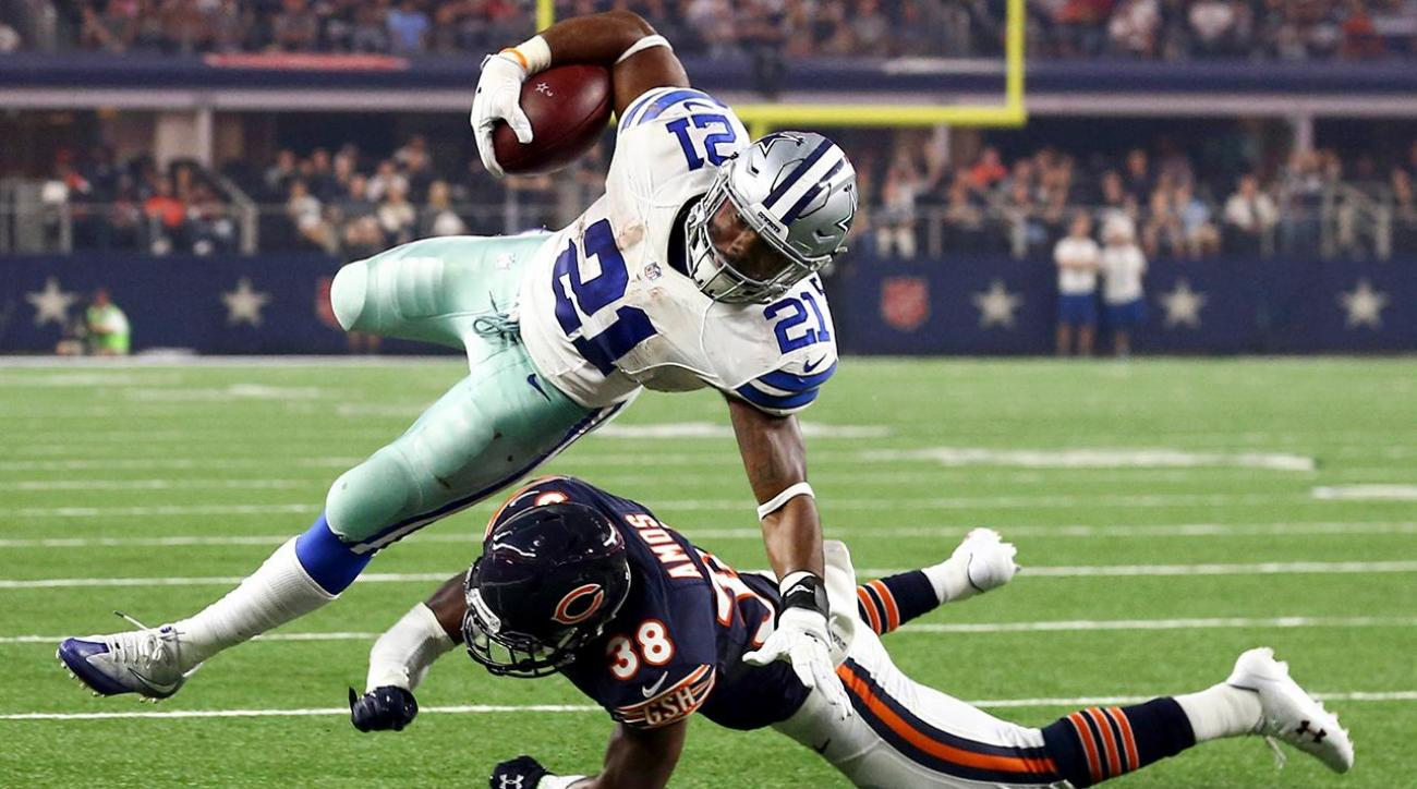 Cowboys rookies reach milestones vs. Bears