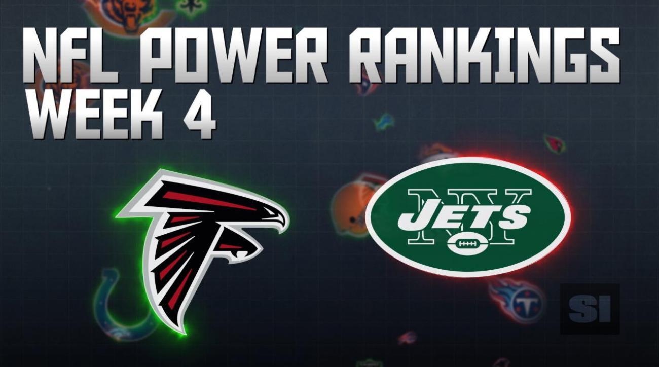 NFL Power Rankings: Week 4