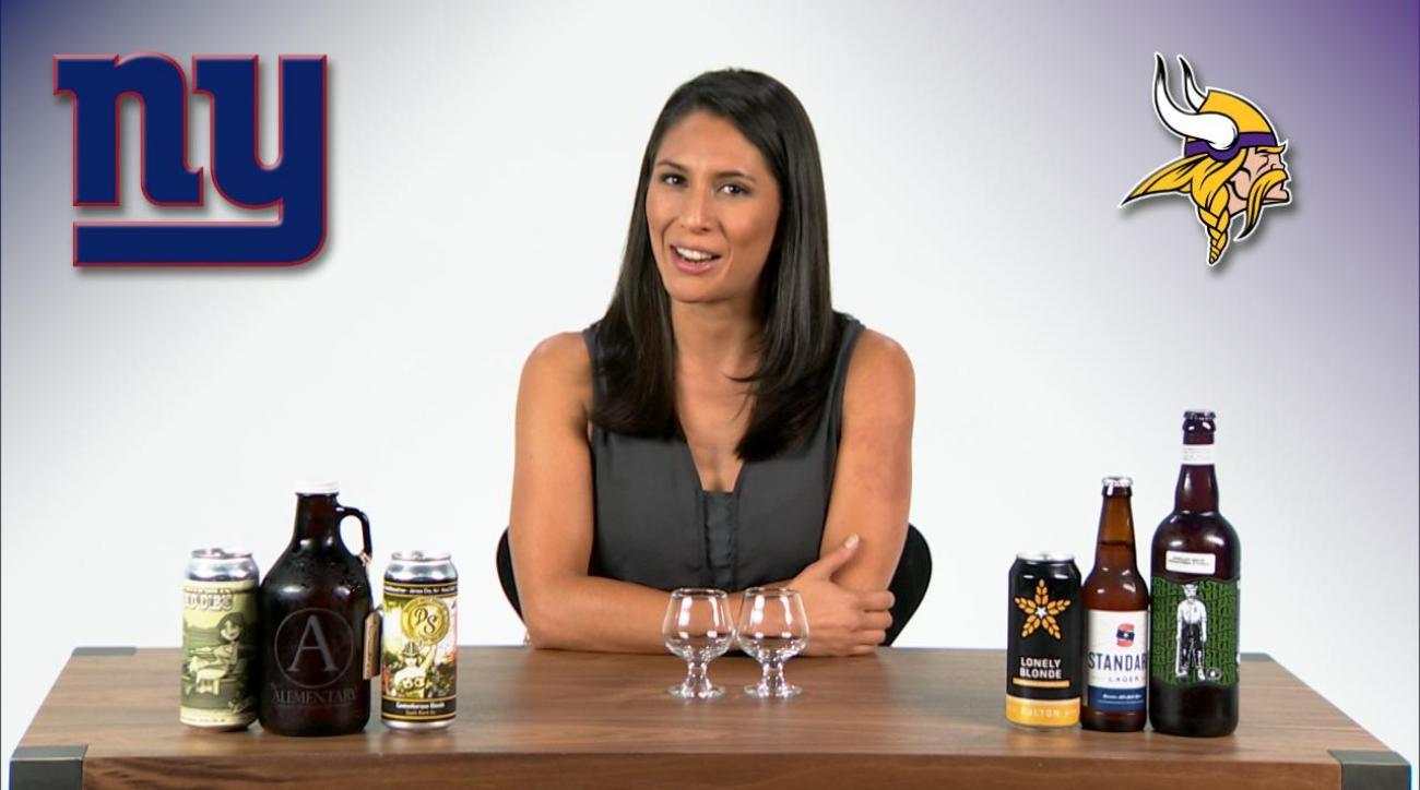 Monday Night Football Beer Pick 'Em Week 4: New York Giants vs Minnesota Vikings IMG