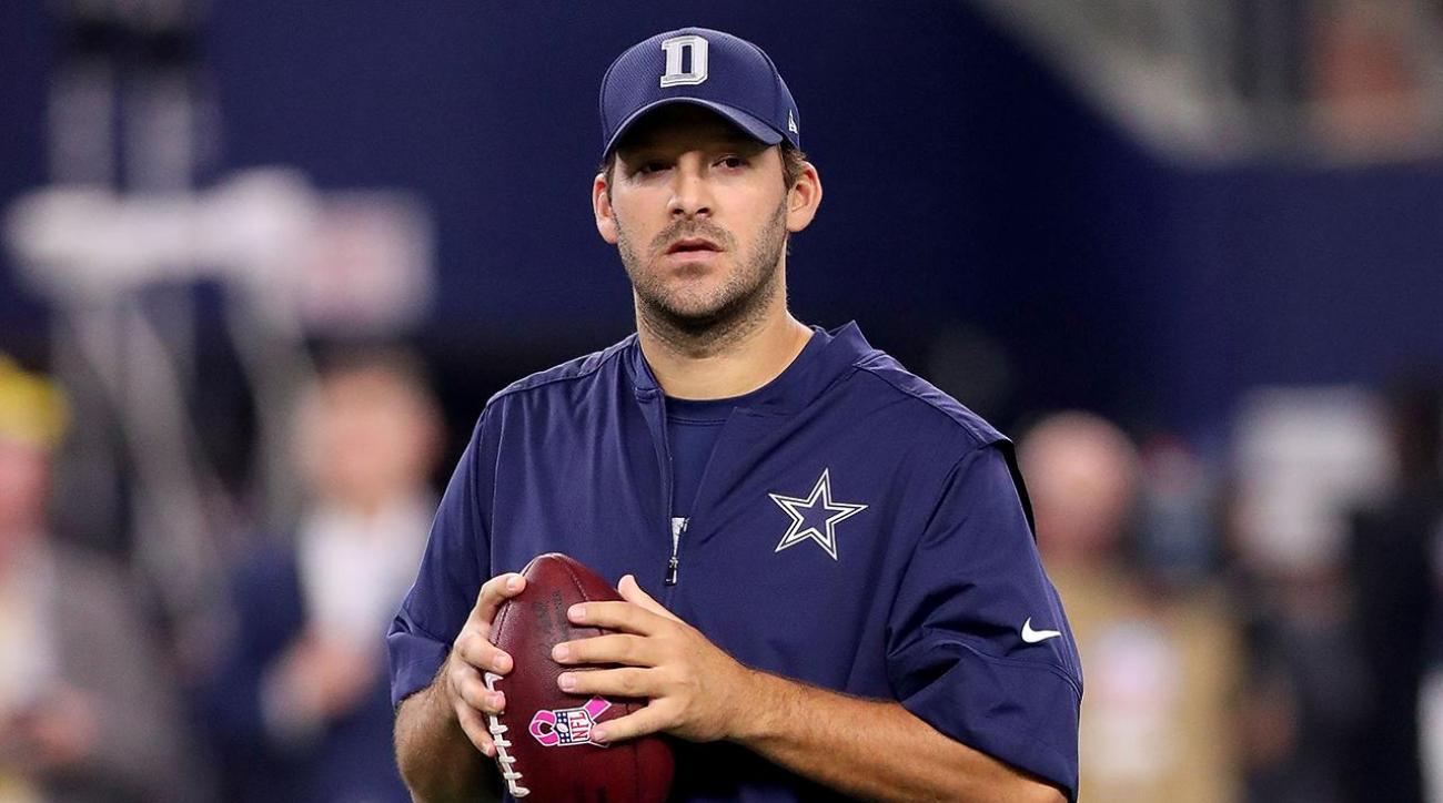 Cowboys target Week 8 return for Tony Romo