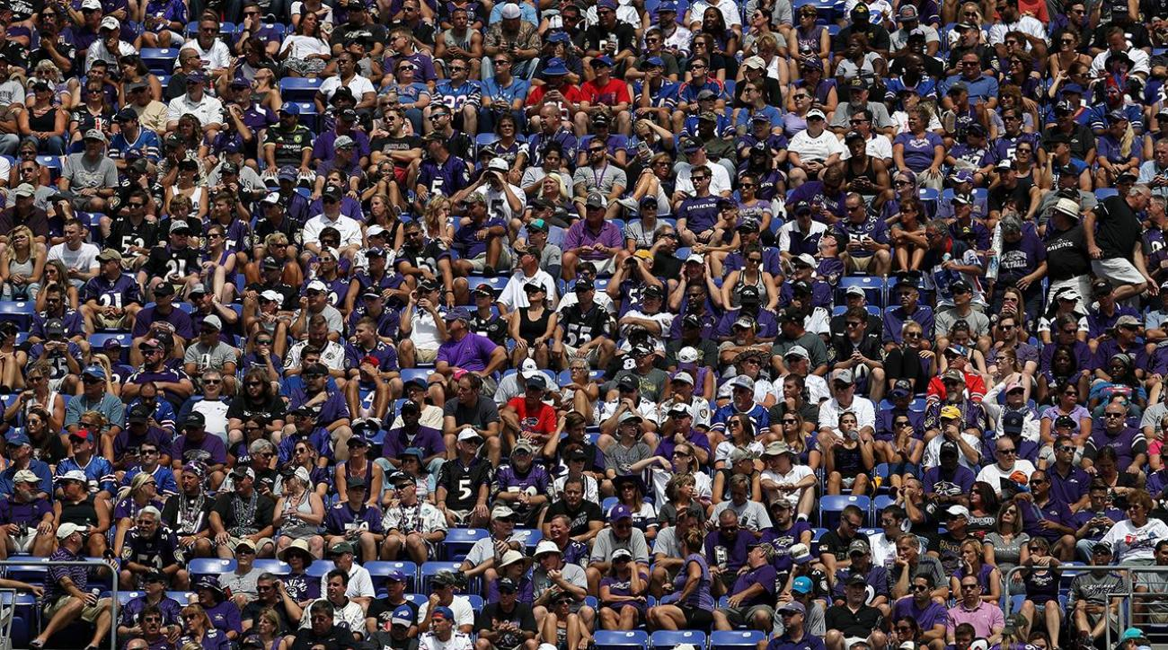 Ravens fan in critical condition after altercation with Raiders fans