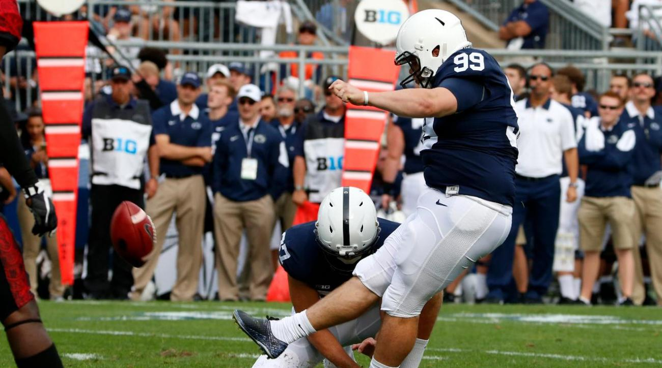 Penn State kicker Joey Julius opens up about eating disorder