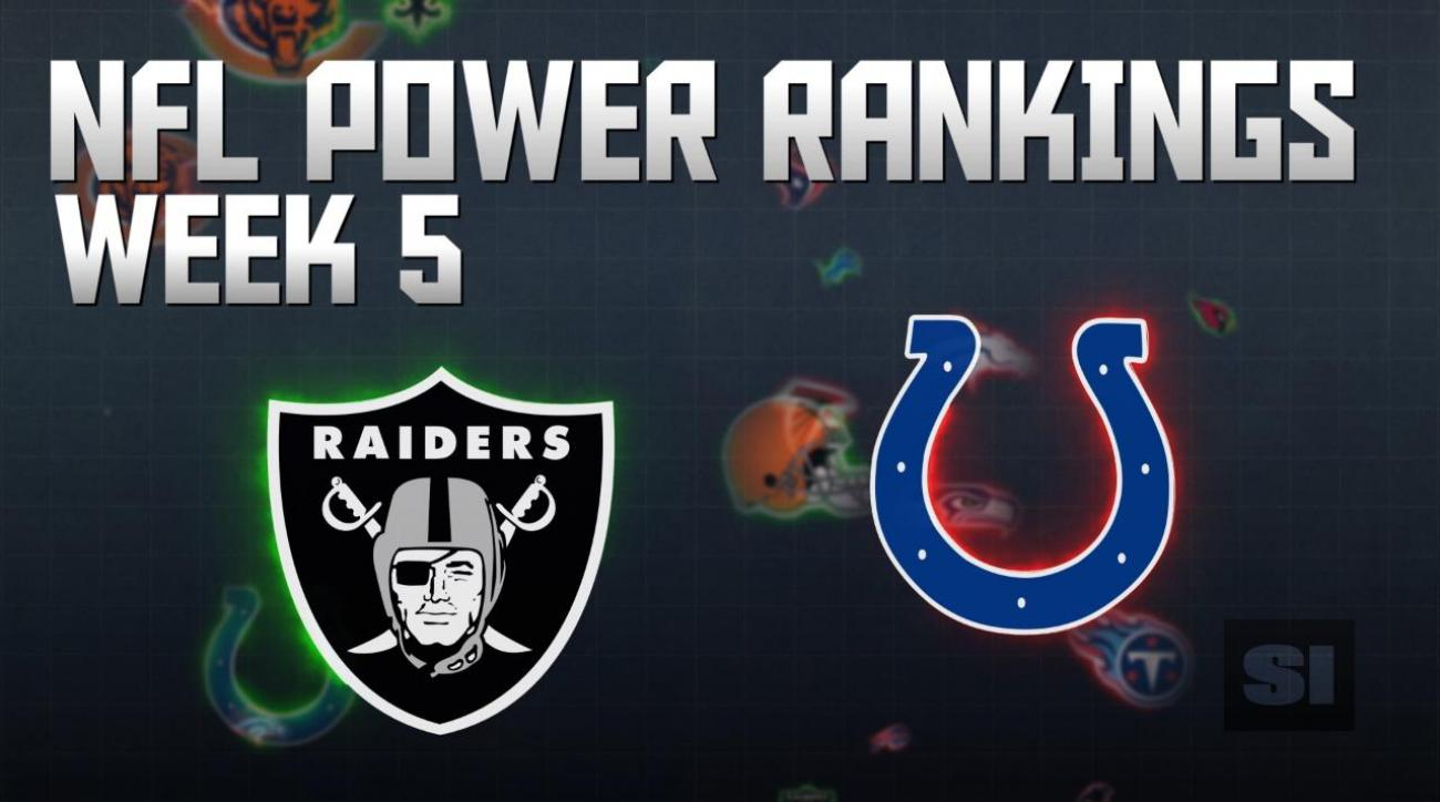 NFL Power Rankings: Week 5
