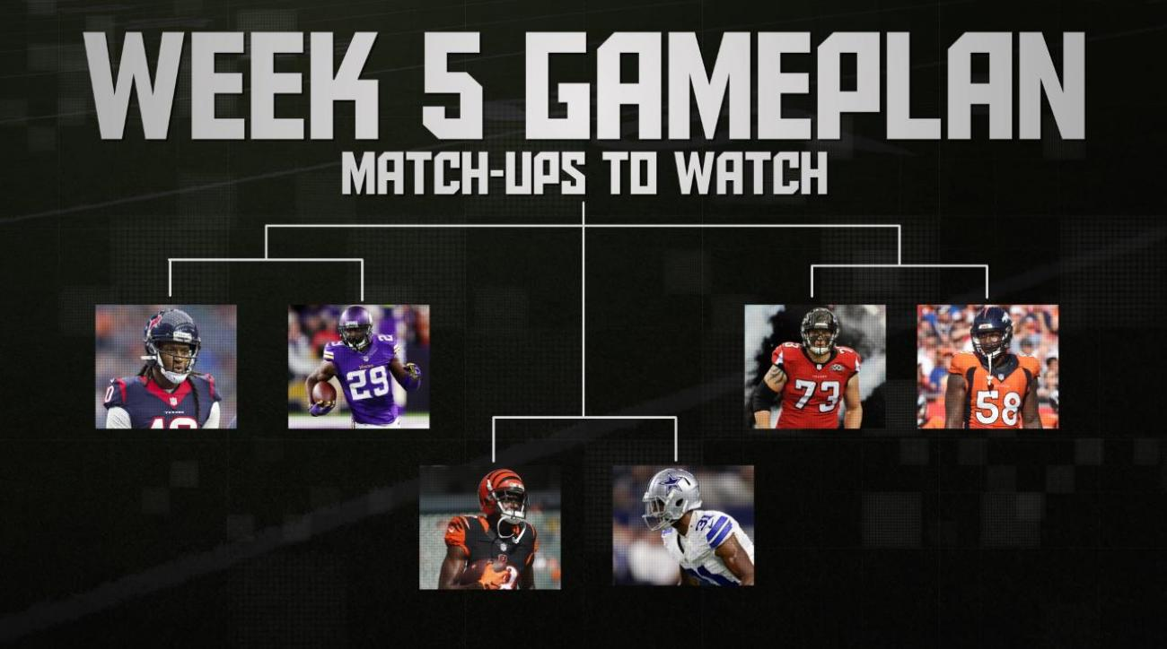 NFL's Week 5 Gameplan