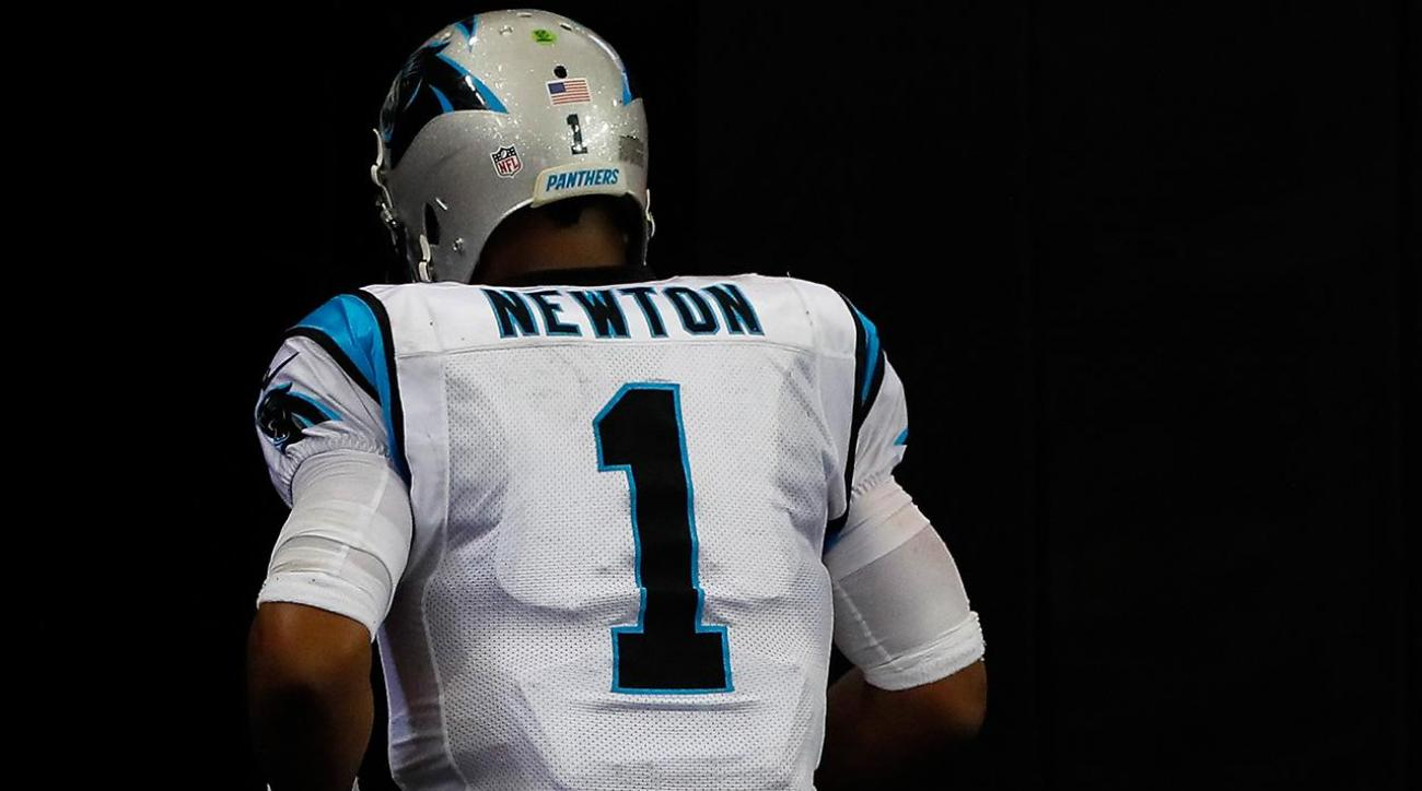 Cam Newton ruled out of Panthers game Monday night