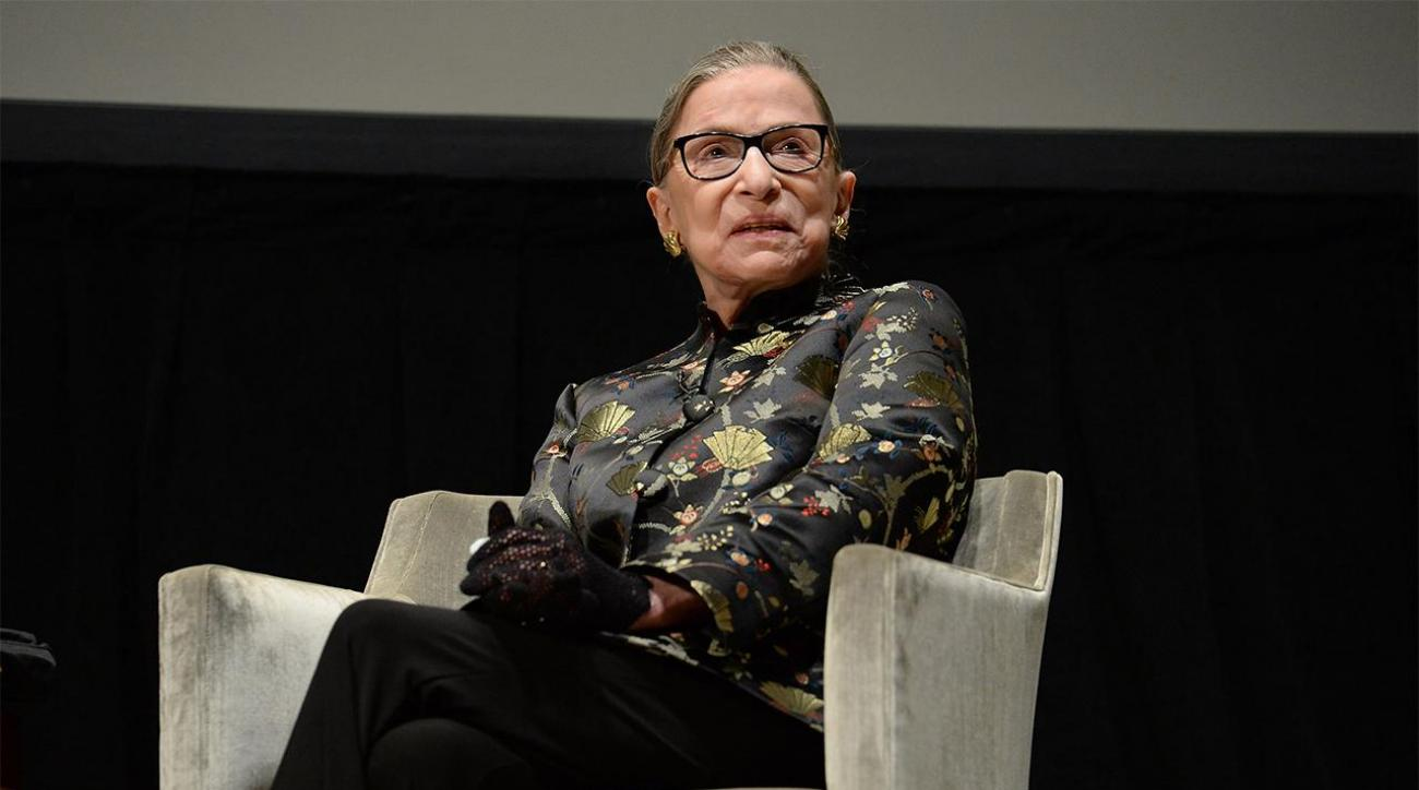 Ruth Bader Ginsburg: NFL anthem protest is arrogant IMAGE