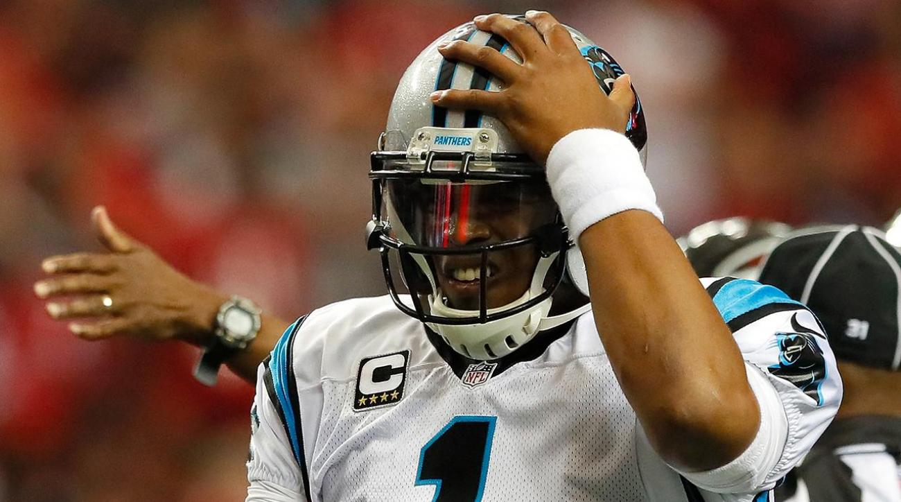 Concussed Cam Newton misses MNF, seen riding scooter without helmet