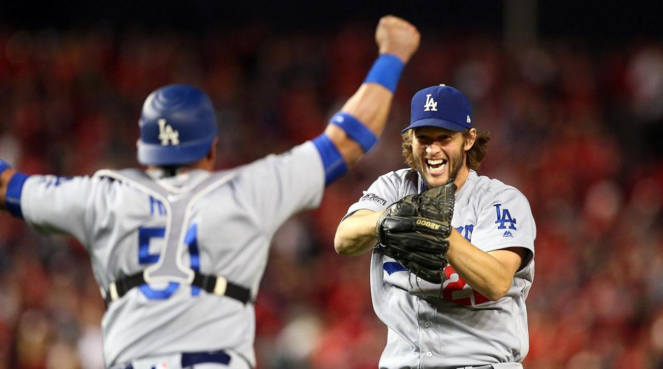 Clayton Kershaw gets save, LA tops Nats 4-3 to advance to NLCS