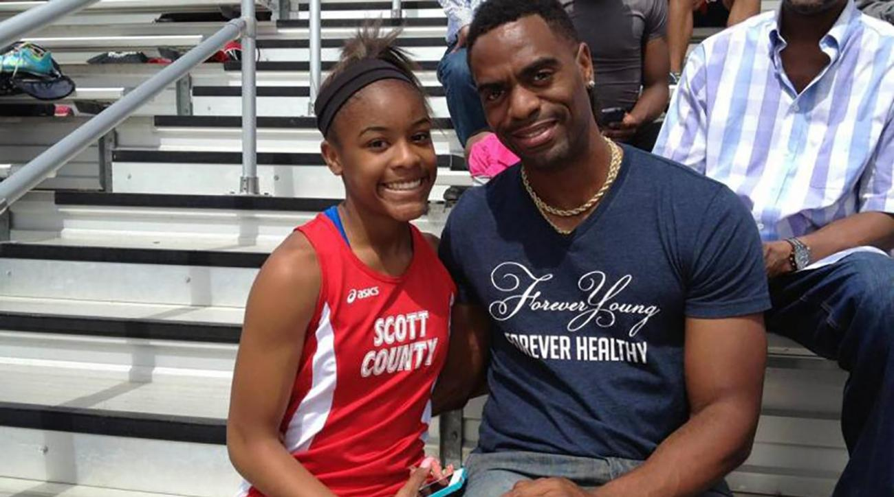 Three arrested in shooting death of Tyson Gay's 15-year-old daughter