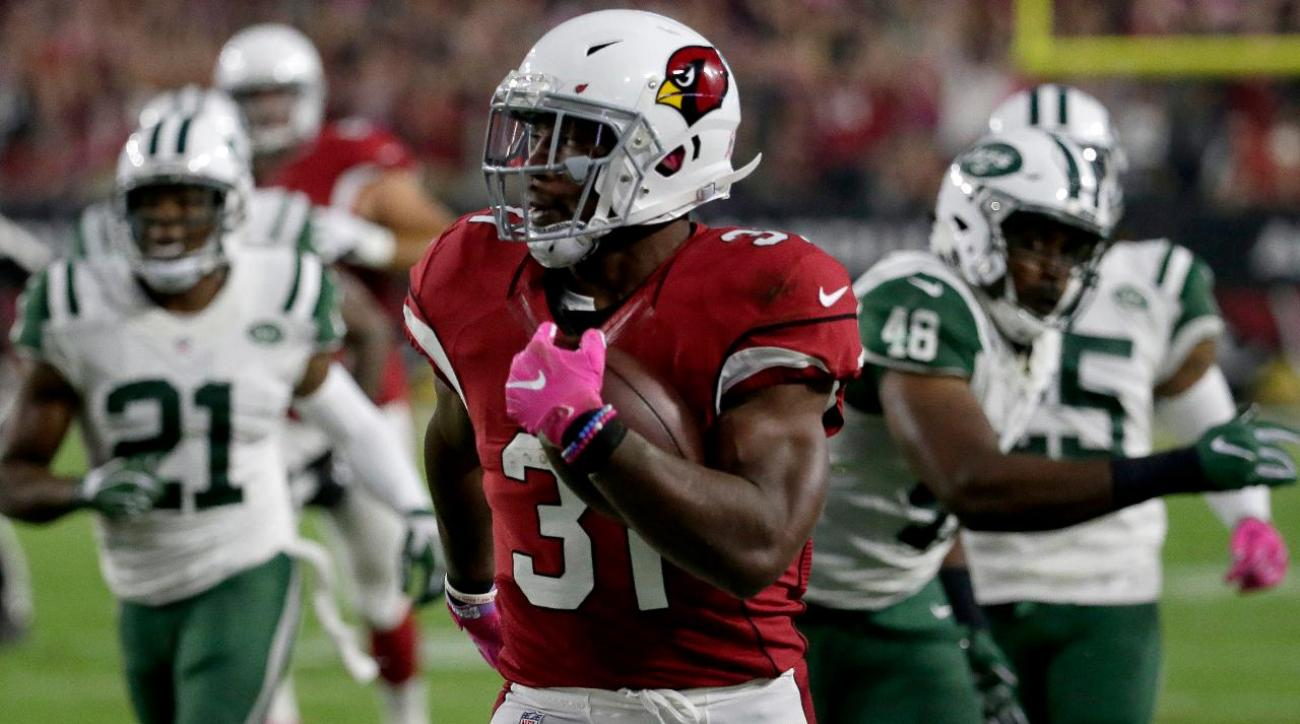David Johnson's big game leads Cardinals to blowout win over Jets
