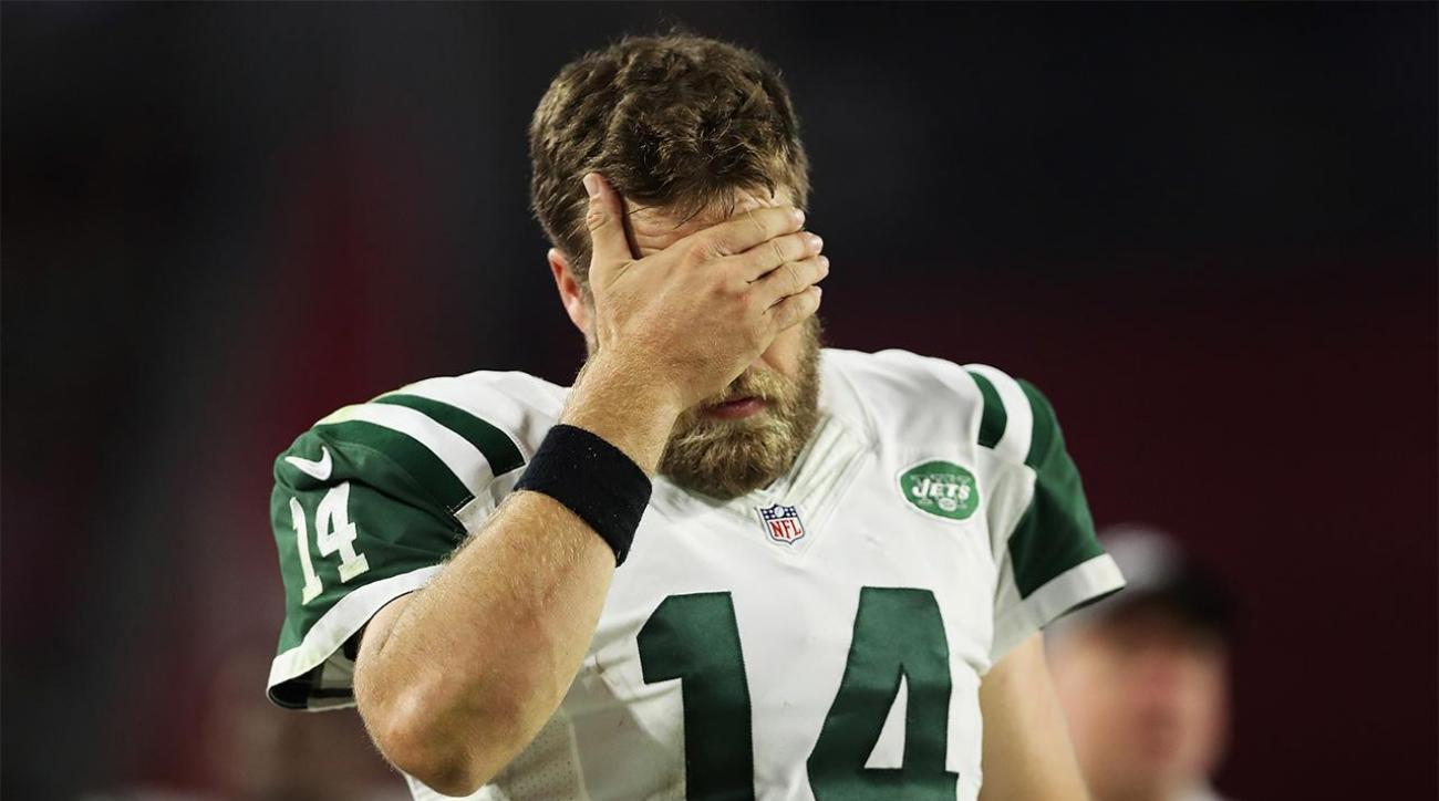 How bad has Jets QB Ryan Fitzpatrick been?