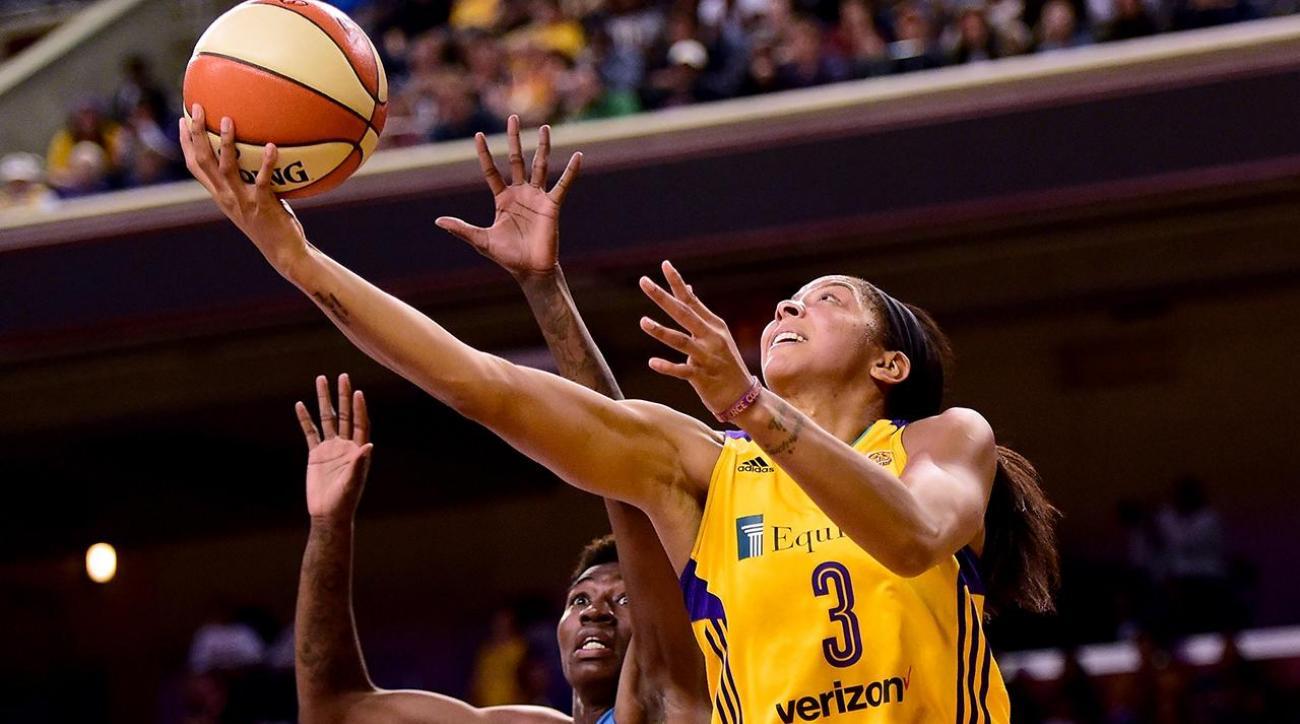 Candace Parker dedicates WNBA championship win to Pat Summitt