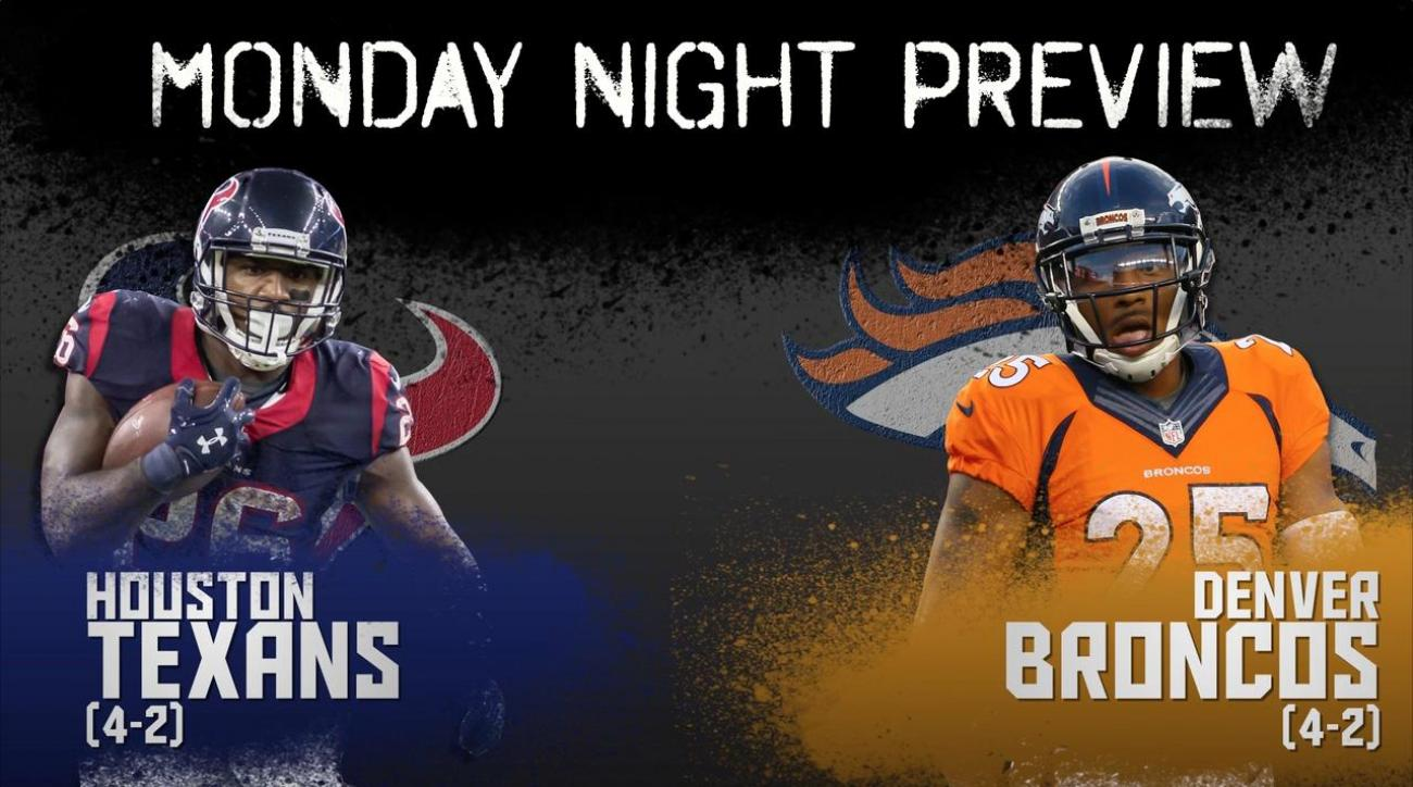 Monday Night preview: Texans vs. Broncos