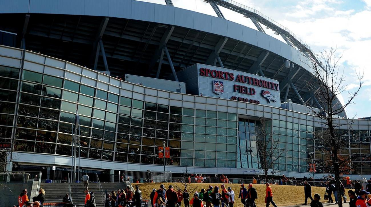 Fan falls 30-50 feet at Broncos' stadium