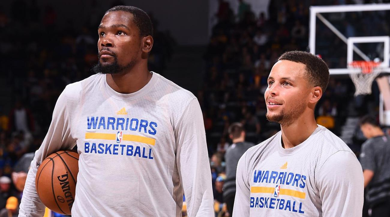 What's Stephen Curry and Kevin Durant's ceiling? IMG